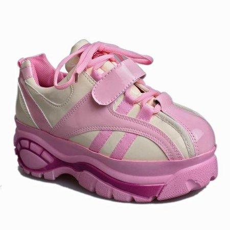 Harajuku Japan Platform Candy Aesthetic Shoes Sneakers by Kawaii Babe