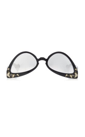 Acetate Cat-Eye Sunglasses By Gucci | Moda Operandi