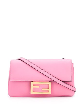 Fendi Mini Baguette Crossbody Bag - Farfetch