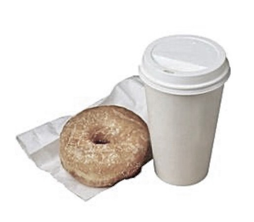 donut and coffee filler