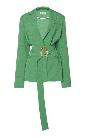Belted Blazer Jacket by MATÉRIEL | Moda Operandi