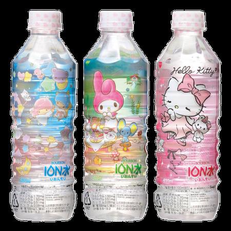 sanrio bottles