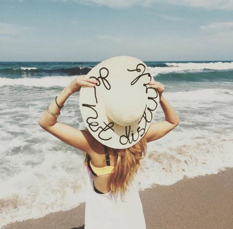 ciao! newport beach: the hat of the summer...do not disturb