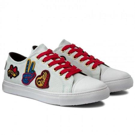 Plimsolls TOMMY HILFIGER - Low Lace Sneaker Gigi Hadid 1C FW0FW01133 White 100 - Sneakers - Low shoes - Women's shoes - efootwear.eu