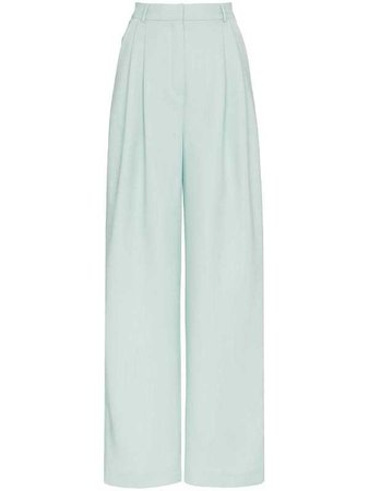 VIKA GAZINSKAYA wide leg pleat front trousers