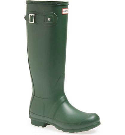 Hunter Original Tall Waterproof Rain Boot (Women) | Nordstrom