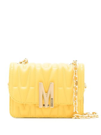 Moschino Quilted M Shoulder Bag - Farfetch
