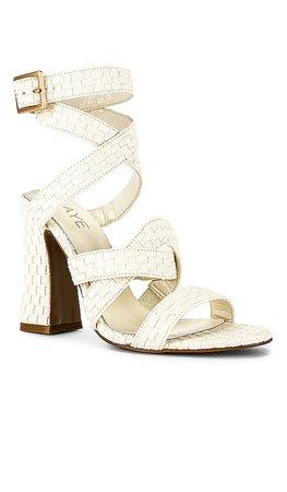 RAYE Femme Heel in White | REVOLVE