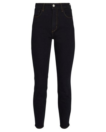 L'Agence Margot High-Rise Skinny Jeans   INTERMIX®