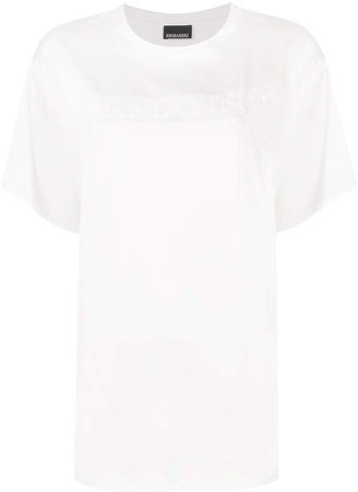 Ermanno Ermanno embroidered logo T-shirt