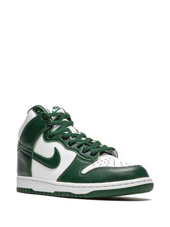"Nike Dunk High ""Spartan Green"" Sneakers - Farfetch | uploader: 16_22"