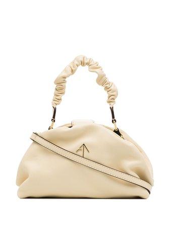 Manu Atelier Demi ruched shoulder bag 2018163 - Farfetch