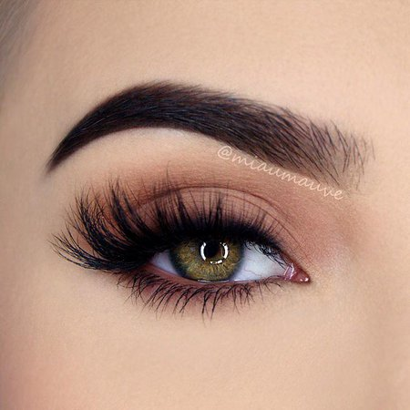 Nude Matte Eye Makeup
