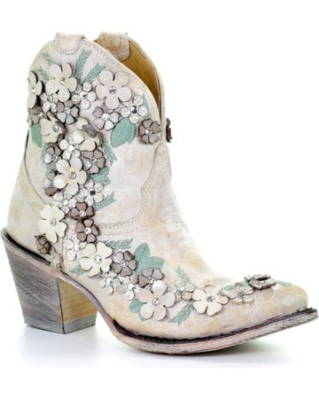 Floral Corral Booties