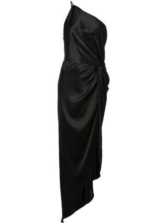 Michelle Mason вечернее платье с перекрученной деталью - купить в интернет магазине в Москве   Цены, Фото.