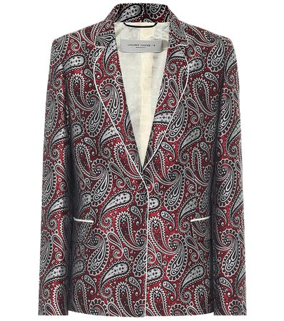 Venice paisley blazer