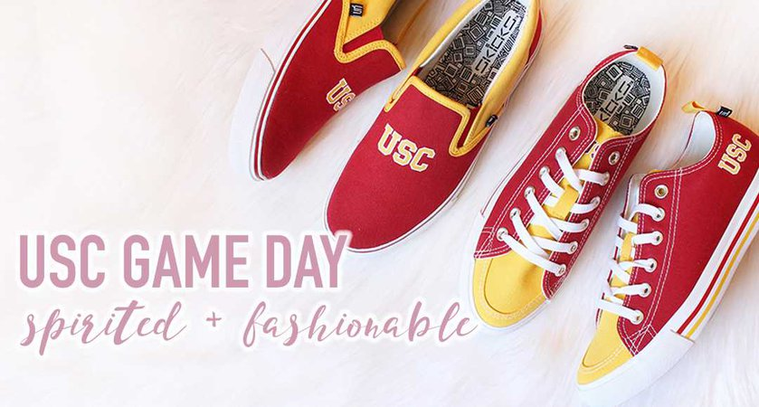 Spirited + Fashionable | USC GAME DAY IDEAS