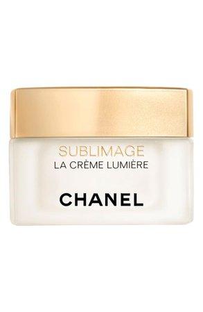 CHANEL SUBLIMAGE LA CRÈME LUMIÈRE Ultimate Regeneration & Brightening Cream | Nordstrom