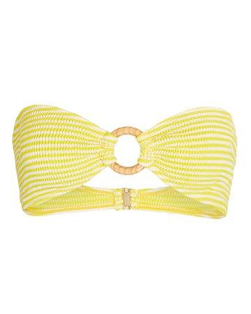 Cleonie Sea Kini Bandeau Bikini Top | INTERMIX®