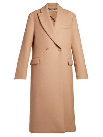 Stella McCartney- Twill overcoat