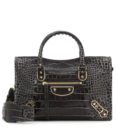 Classic City S Leather Tote | Balenciaga - Mytheresa