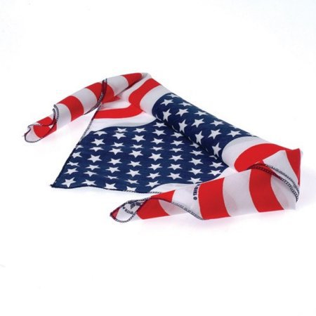 American Flag Bandana USA Stars And Stripes 100% United States Patriotic - Walmart.com