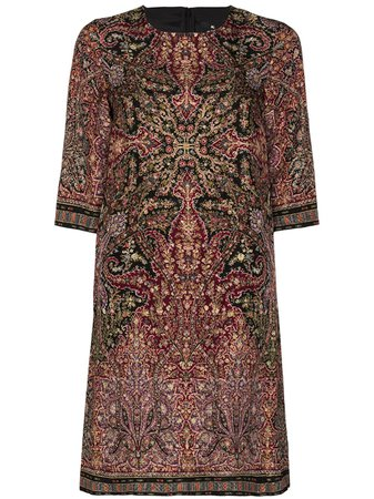 Etro, paisley-print Shift Dress