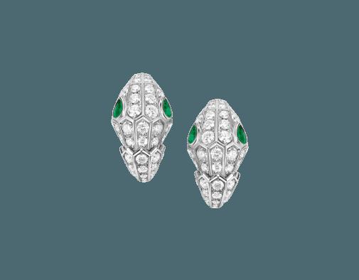 Earrings - Serpenti 354702-E |BVLGARI