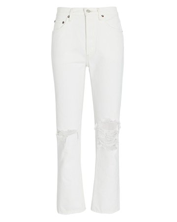 AGOLDE Riley High-Rise Cropped Jeans   INTERMIX®