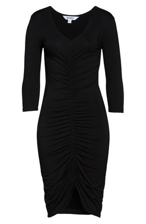 BB Dakota Ruched Mood Knit Body-Con Dress | Nordstrom
