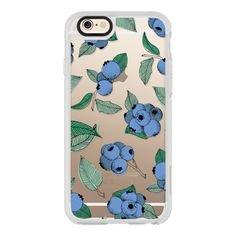 Wild Blueberries - iPhone 6S Case