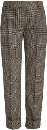 Akris Maxima Wool-Flannel Pants