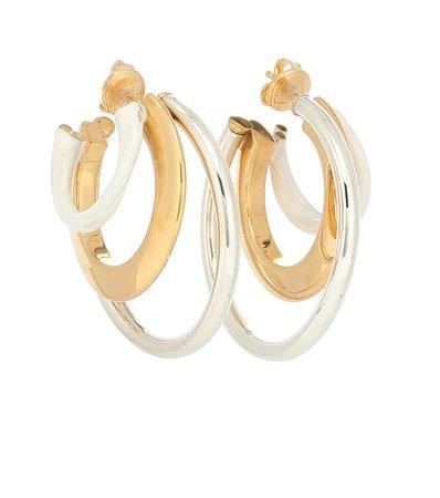 Multi-Hoop 925 Sterling Silver Earrings - Bottega Veneta   Mytheresa