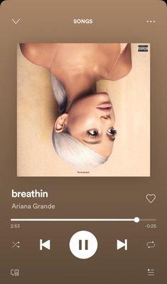 """breathin"" by Ariana Grande on Spotify"