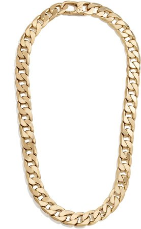 Michel Curb Chain Necklace