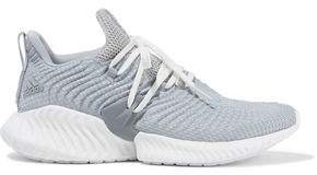 Alphabounce Instinct Stretch-knit Sneakers