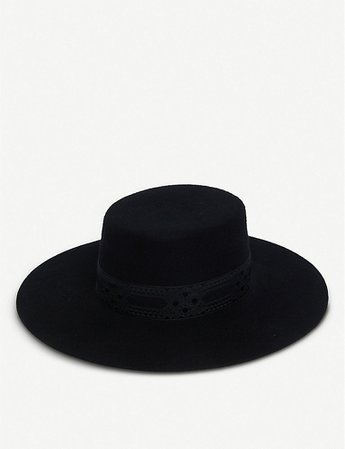 LACK OF COLOR - Sierra wool boater hat | Selfridges.com