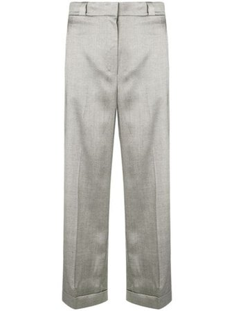 ShopTheory straight leg trousers with Express Delivery - Farfetch