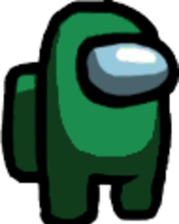 among us green character