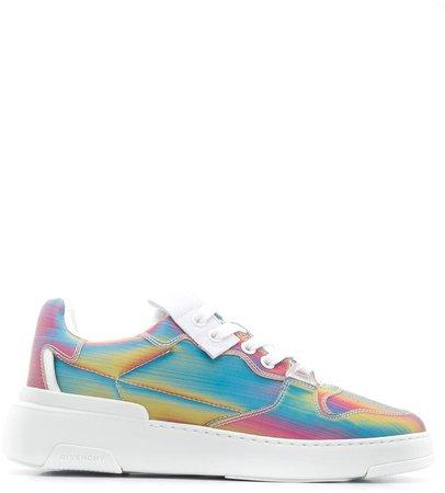 Wing low-top sneakers
