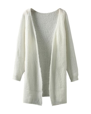 white milk cardigan knit knitted