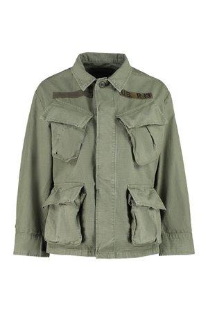 R13 Multi-pocket Cotton Jacket