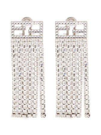 Fendi FF Tassel Earrings - Farfetch