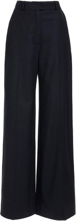 Martin Grant Wool Wide-Leg Pants