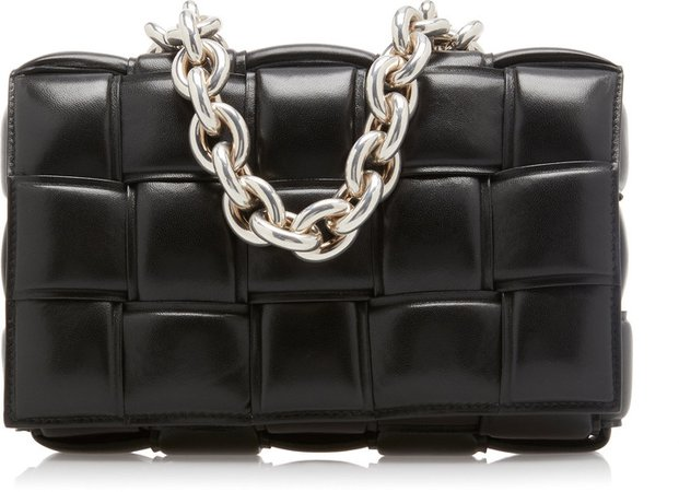 the chain cassette padded leather crossbody bag - Google Search