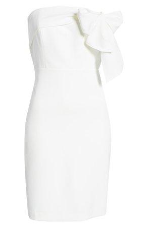 Sam Edelman Strapless Bow Detail Dress | Nordstrom