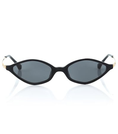 x Linda Farrow angular sunglasses