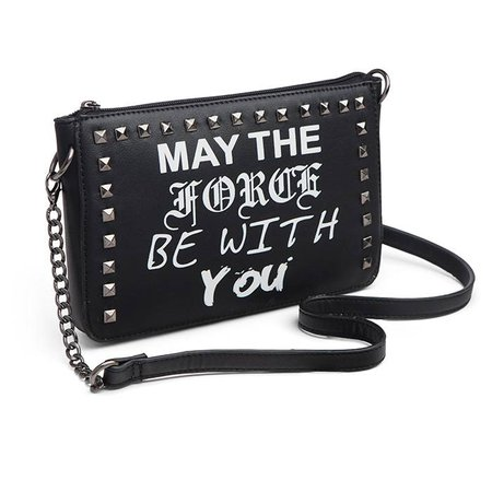 Star Wars May the Force Be With You Purse | thinkgeek.ca
