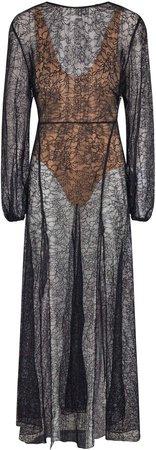 ROTATE Lisa Sheer Lace Dress