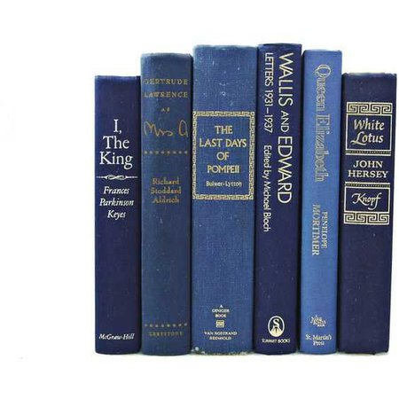 Blue Book Fillers - Via Pinterest/Polyvore